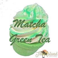 Matcha Green Tea 3.5 oz Bath Bomb Cupcake
