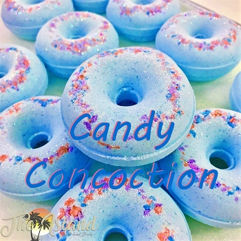 Candy Concoction Donut Bath Bomb