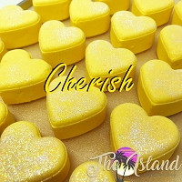 Cherish 4 oz Bath Bomb Heart