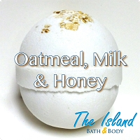 Oatmeal, Milk, & Honey 4.5 oz Bath Bomb