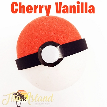 Cherry Vanilla Surprise Bath Bomb w/Toy