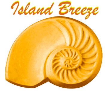 Island Breeze Seashell Bath Bomb