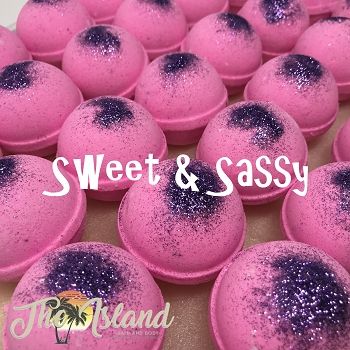 Sweet & Sassy 4.5 oz Bath Bomb