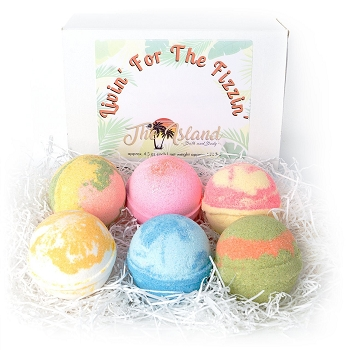 * Variety Bath Bomb Gift Set -  6 ct