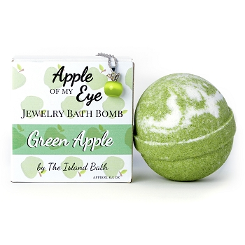 Apple Of My Eye with Green Opal Necklace (Green Apple)