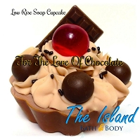 Coconut Milk Soap Cupcake: For The Love Of Chocolate