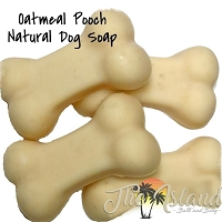Oatmeal Pooch Natural Dog Soaps (4 ct)