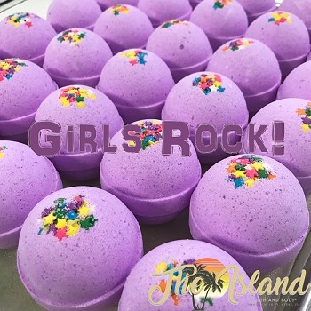 Girls Rock Bath Bomb