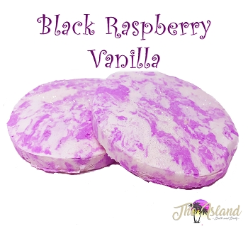 Black Raspberry Vanilla Bubble Bath Bars