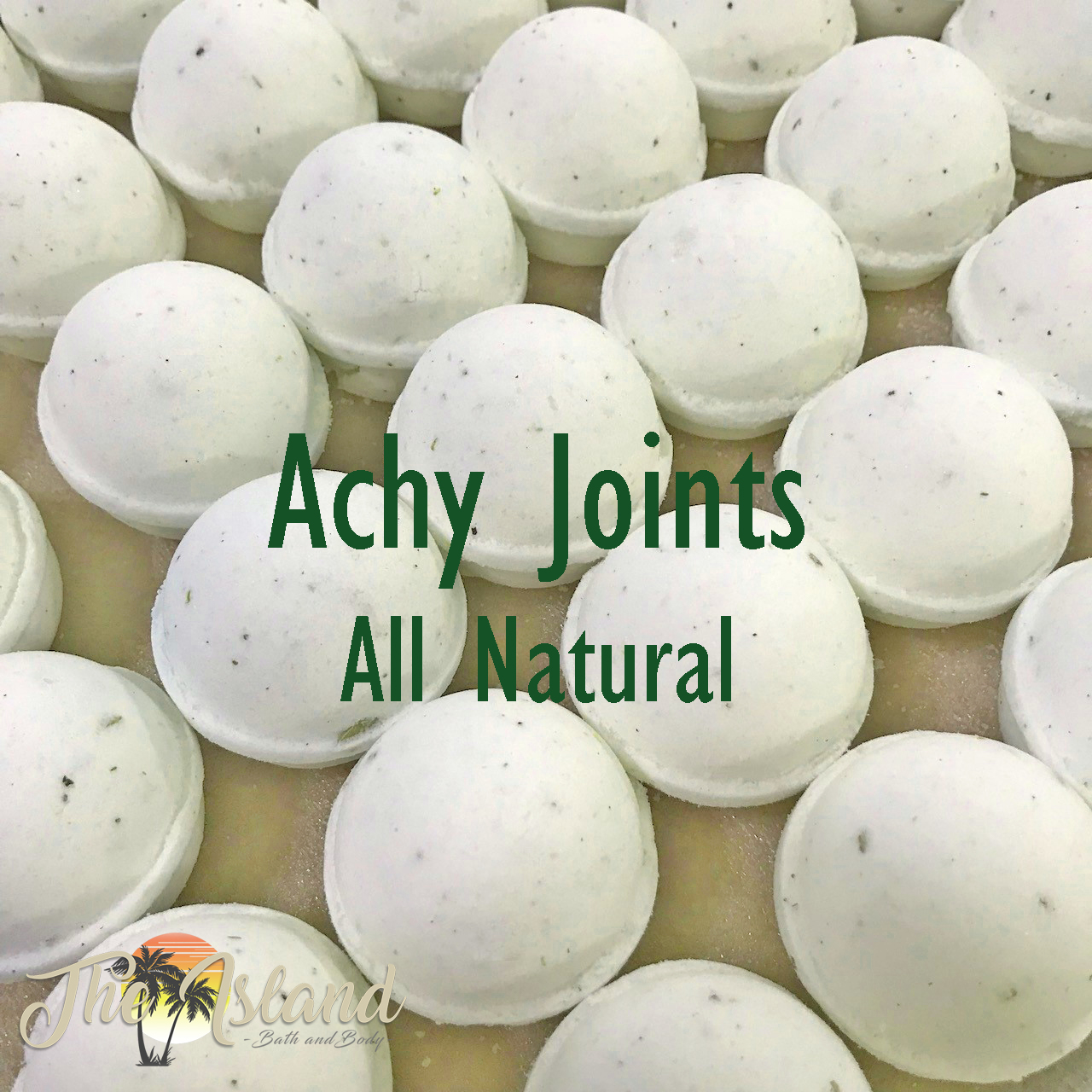 Achy Joints 5.5 oz Natural Bath Bombs