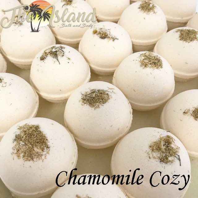 Chamomile Cozy 5.5 oz Bath Bomb