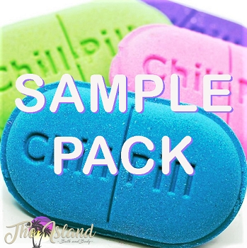 * 12 ct. Sampler Assortment - Chill Pill Bath Bombs