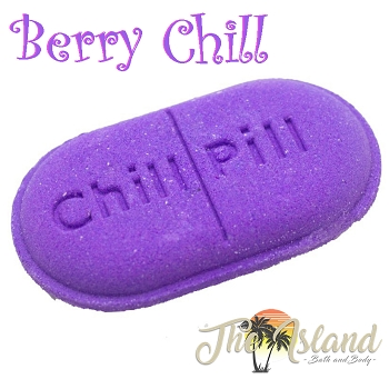 Berry Chill Pill Bath Bomb
