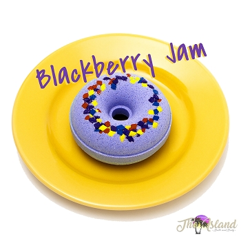 Blackberry Jam Donut Bath Bombs