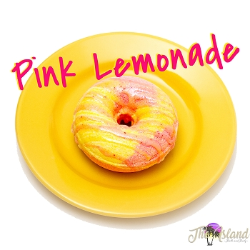 Pink Lemonade Glazed Donut Bath Bombs