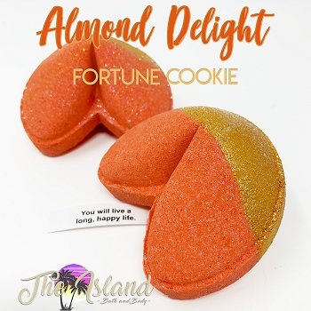 Almond Delight Fortune Bombs
