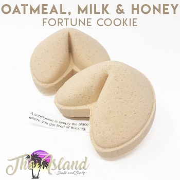 Oatmeal Milk and Honey Fortune Bomb