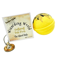 Yellow Bath Bomb Gift Box with Pendant
