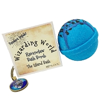 Blue Bath Bomb Gift Box with Pendant