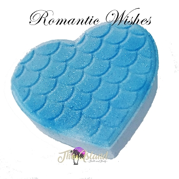 Romantic Wishes 5.5 oz Bath Bomb Heart