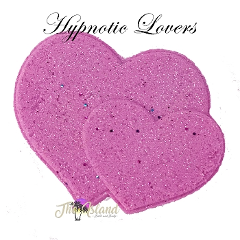 Hypnotic Lovers 5.5 oz Bath Bomb Heart