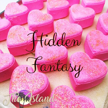 Hidden Fantasy 4 oz Bath Bomb Heart
