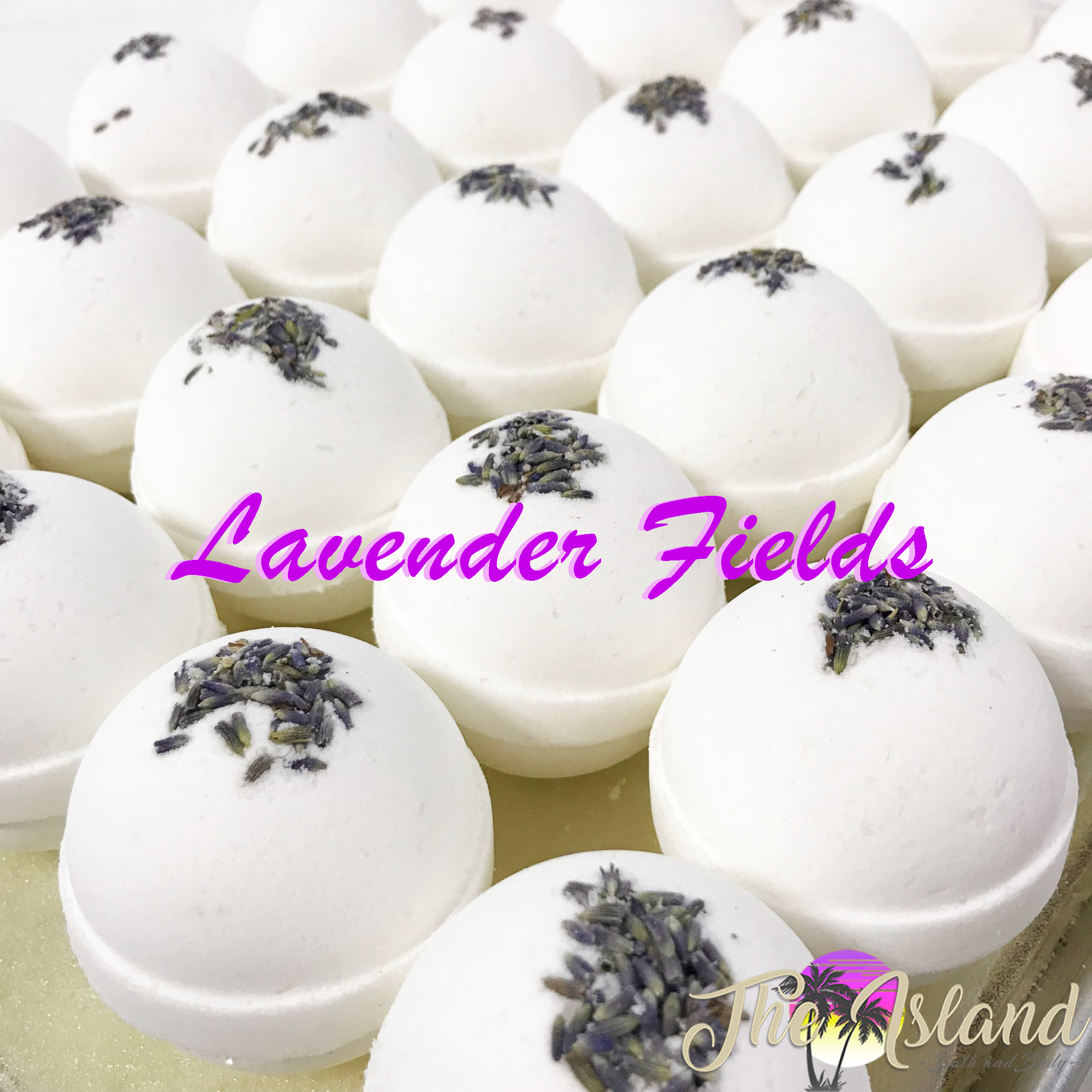 Lavender Fields Natural 5.5 oz Bath Bomb