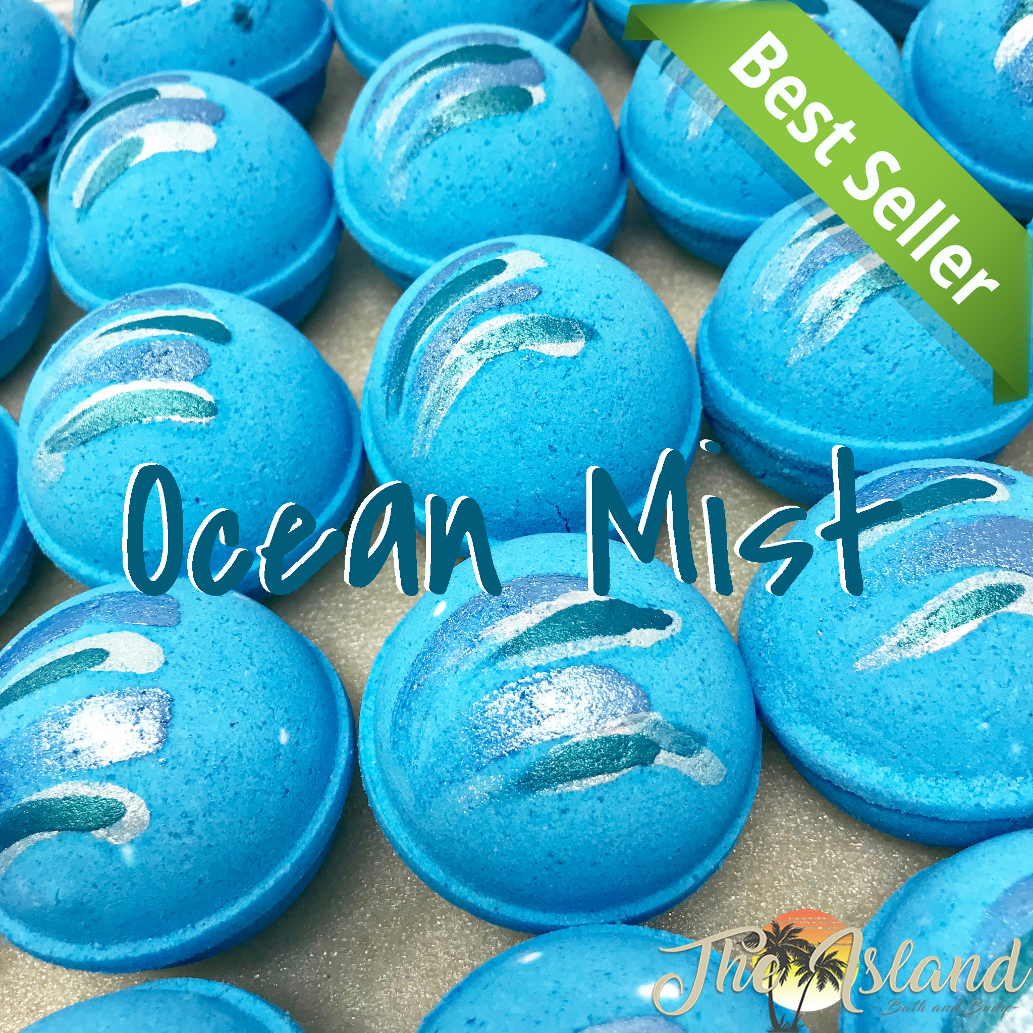 Ocean Mist 5.5 oz Bath Bombs