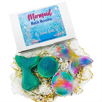 MERMAID TAILS & SCALES Bath Bomb Gift Set
