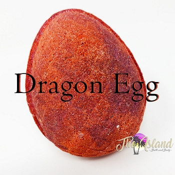 Dragon's Egg: RED 7.5 oz Bath Bombs
