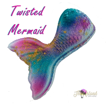 Twisted Mermaid Tails Bath Bombs