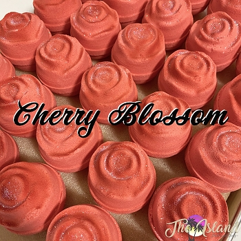 Cherry Blossom 5.5 oz Flower Bath Bomb
