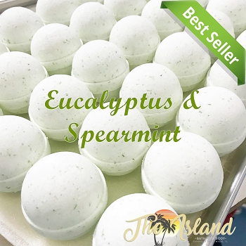 Eucalyptus Spearmint 5.5 oz Bath Bombs