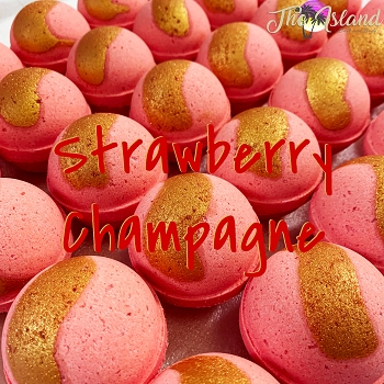Strawberry Champagne 4.5 oz Bath Bomb