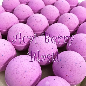Acai Berry Blast 6.5 oz Bath Bombs
