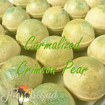 Caramelized Crimson Pear 5.5 oz Bath Bombs