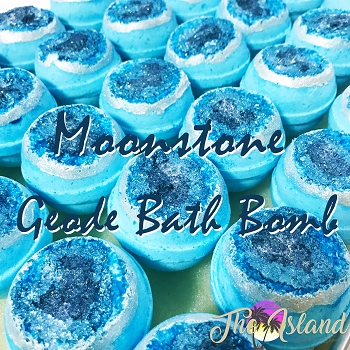 Geode: Moon Stone Bath Bombs
