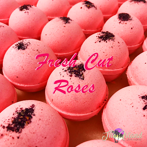 Fresh Cut Roses 5.5 oz Bath Bomb
