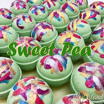Sweet Pea 4.5 oz Bath Bombs