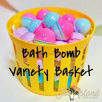 45 Count Easter Egg Bath Bombs Variety Basket