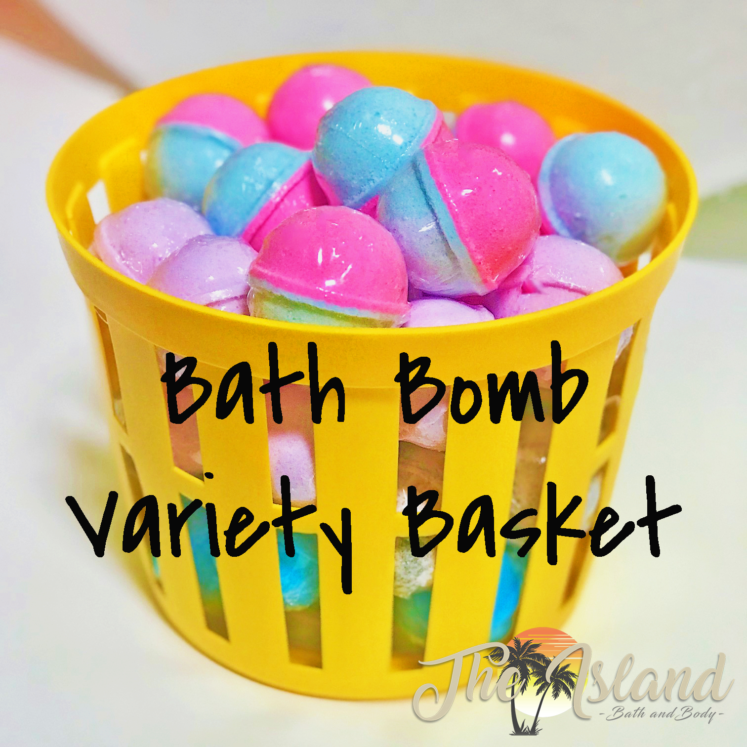 45 Count 2 oz Bath Bombs Variety Basket