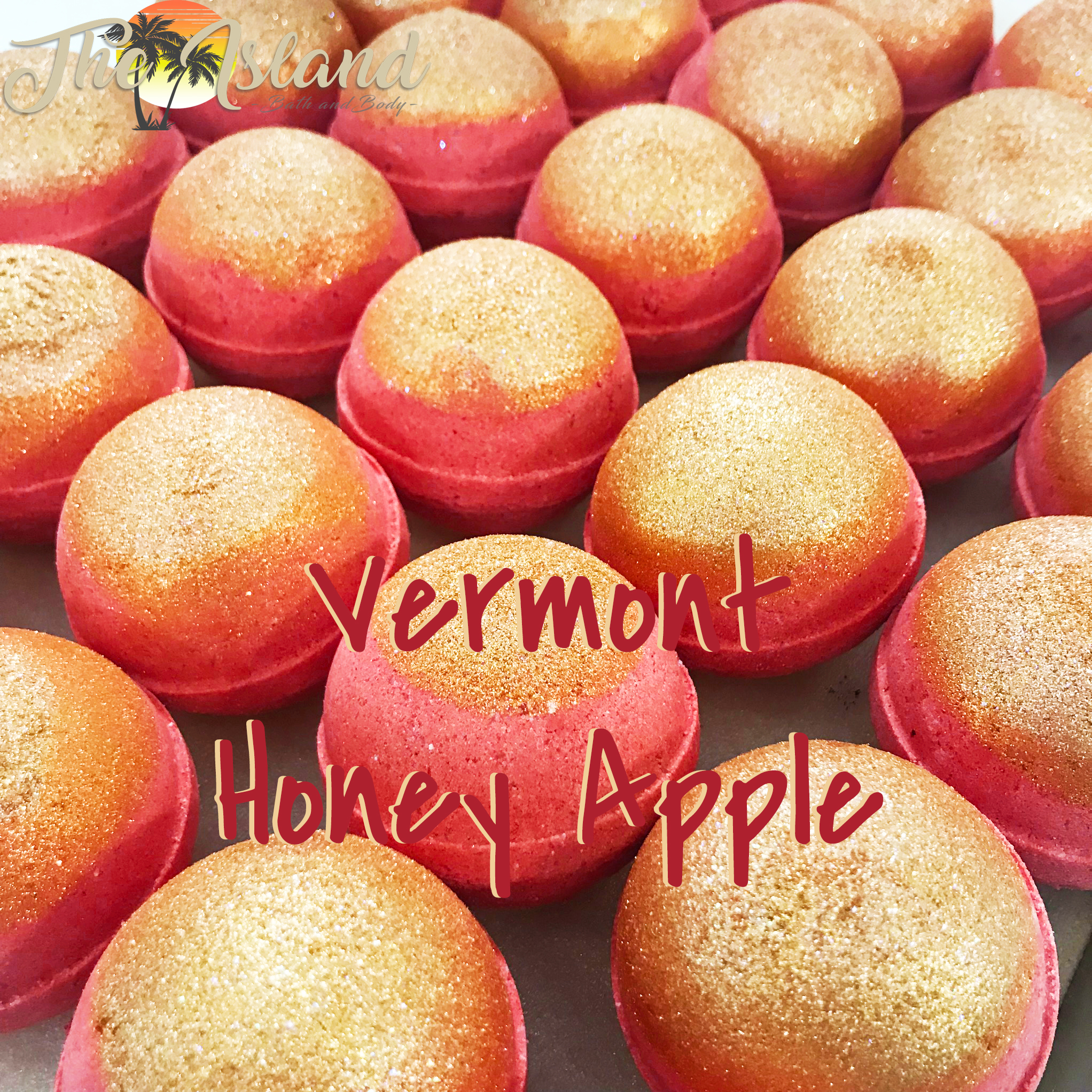 Vermont Honey Apple 2oz Bath Bombs