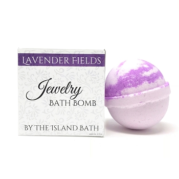Lavender Jewelry Bath Bomb