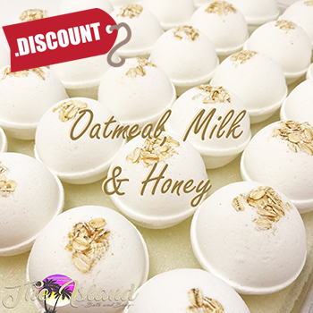 Oatmeal Milk and Honey 5.5 oz Bath Bomb