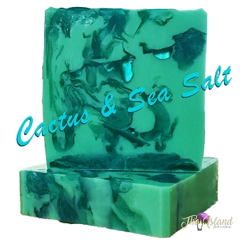 Cactus & Sea Salt Coconut Milk Soap