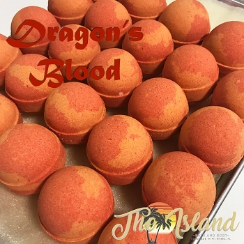 Dragon's Blood 6.5 oz Bath Bomb