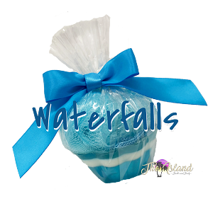 Waterfalls Coconut Milk Soap w/Puff