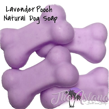Lavender Pooch Natural Dog Soaps (4 ct bones)