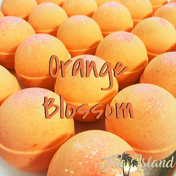 Orange Blossom 4.5 oz Bath Bombs