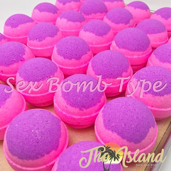 Sex Bomb (Lush Type) 5.5 oz Bath Bombs